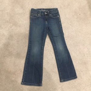 Old Navy children's boot cut jeans NWOT